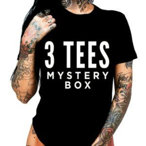 3 Graphic Tee's Reseller Mystery Box $15